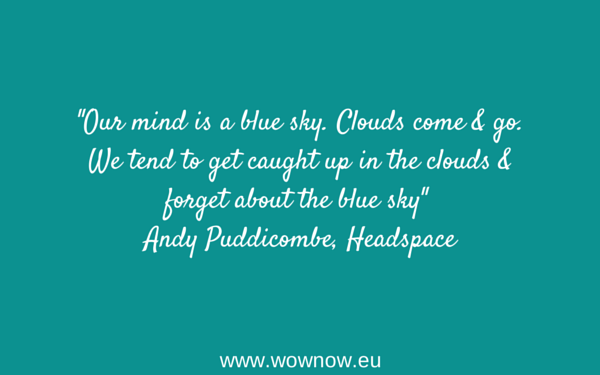 andy puddicombe cancer