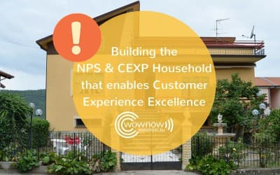 Building the NPS & CEXP Household that enables Customer Experience Excellence