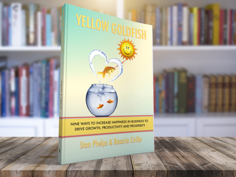 Yellow-Goldfish-Book